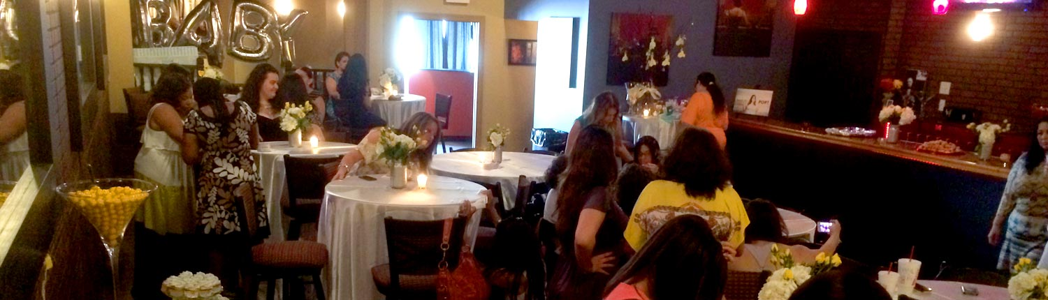 Perfect Baby Shower Party Rental Room Venue Halo Lounge